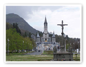 THE SANCTUARY - LOURDES -FRANCE